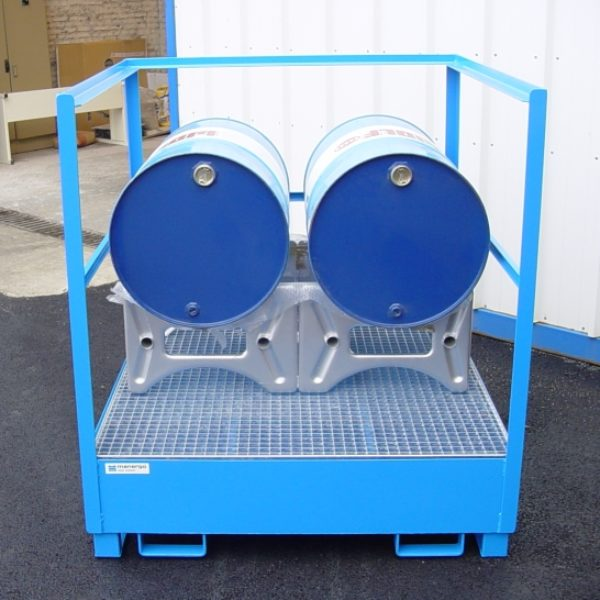 Bac de rétention protec fûts protec-box
