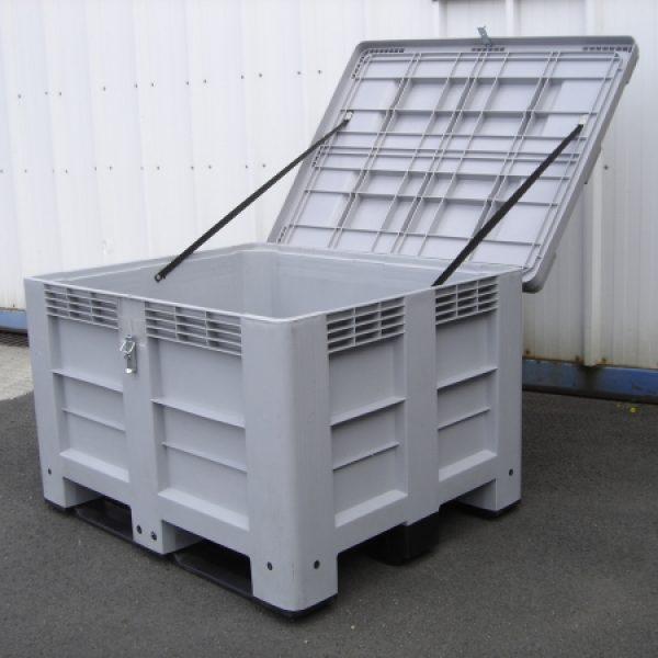 Caisse plastique PALOXE avec option couvercle