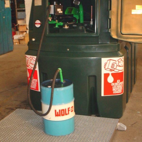 Collecteur d'huiles usagées Mod'huile ASPI