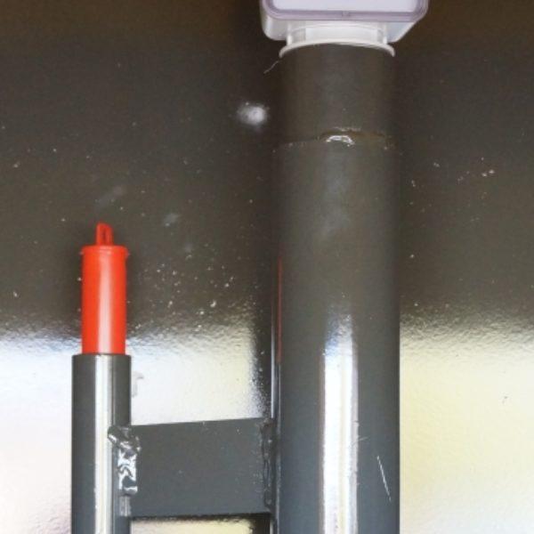 Collecteur Mod'huile R jauge de niveau et système de détection de fuite double cuve