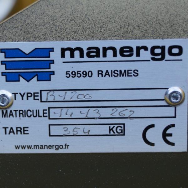 Mod'huile M1200DC - Plaque de firme