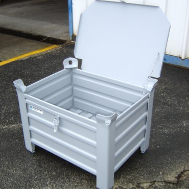 Caisse métallique VP - option couvercle