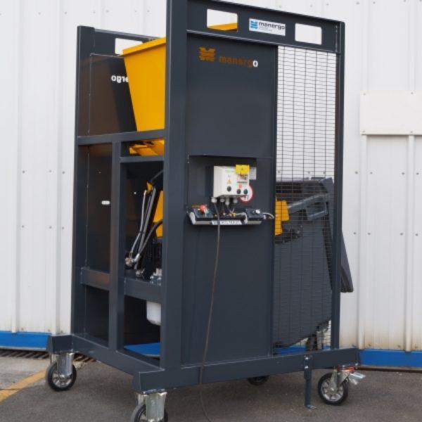 Videur de poubelle spécifique chantier