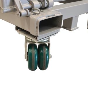 Option benne auto basculante doubles roues