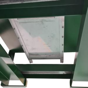 Trappe fermée de container auto videur CAV1750 litres