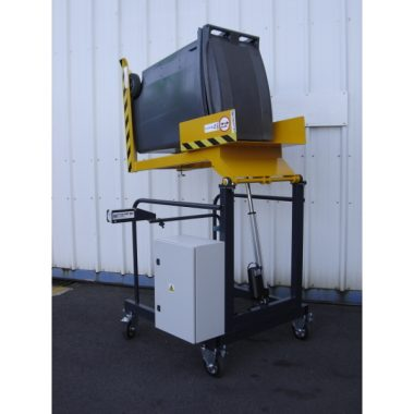 Videur de poubelle 120 ou 240 litres VD135