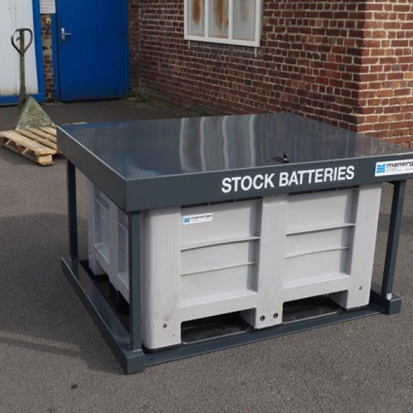 Collecteur de batteries usagées