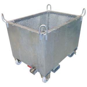 Manergo - Benne de manutention - Benne pour chariot à tête rotative (BTR spéciale)