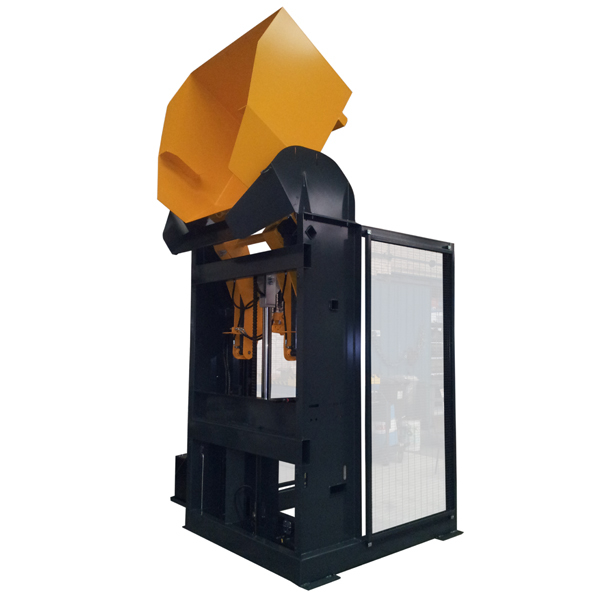 Manergo - Appareils de manutention - Élévateur basculeur de caisses (EB)