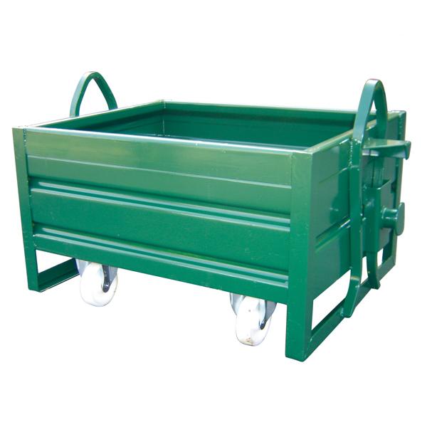 Caisse MANU BOX avec roues