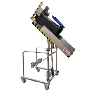 Manergo - appareil de manutention - Vide poubelle inox - VD135