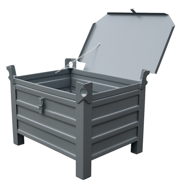 Caisse métallique de type VP avec couvercle