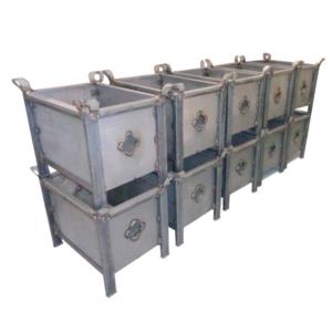 Caisses métalliques MAG BOX Grillagées