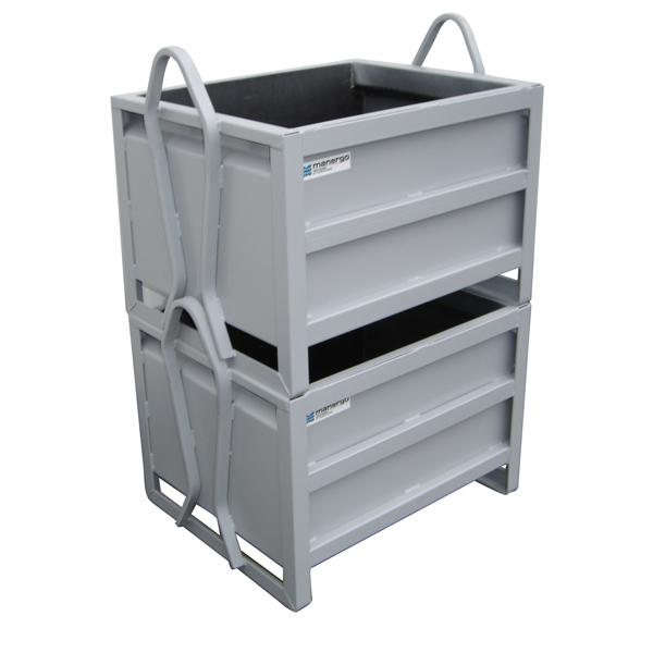 Caisse MANU BOX avec lisses de renfort