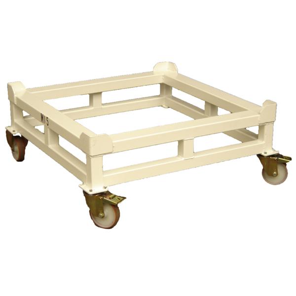 Rehausse avec roues pour caisse et palette